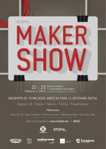 makershow zaragoza tecnologías abiertas
