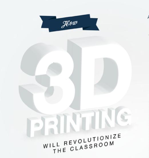 impresión 3D educación