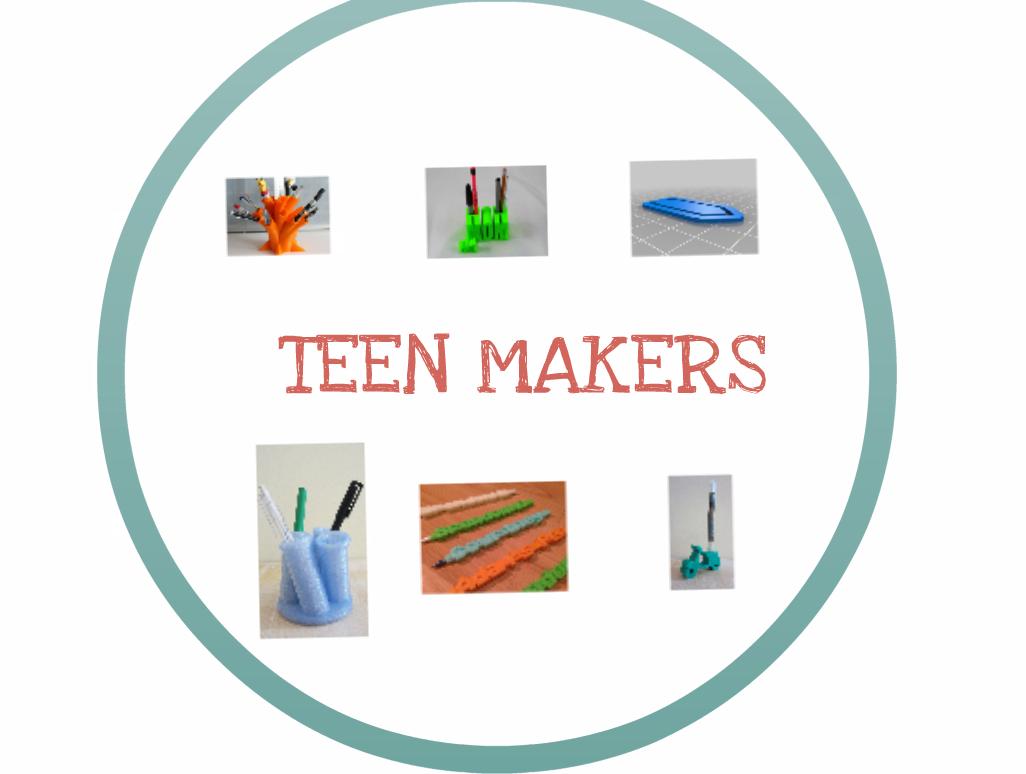 teen makers impresión 3D en boñar