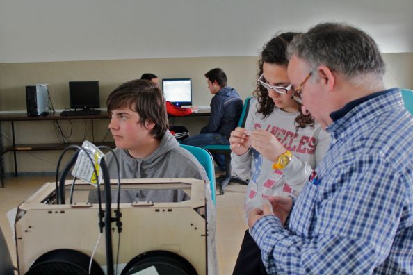 educacion e impresion 3D printing