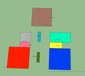 Plantas SketchUp Fundacion Cerezales 3D