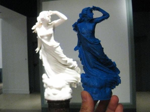 La pleyade original y la impresión en 3D