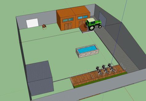diseño 3D arquitectura
