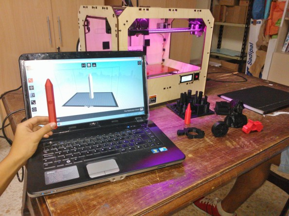 impresion 3D, educación
