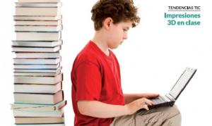 revista educación 3.0, impresión 3d, educación